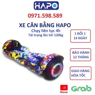 Xe điện cân bằng- LOẠI BÁNH LỚN 8 INCH - Xe cân bằng - xe cân bằng điện - xe cân bằng cho bé - đồ chơi trẻ em - quà tặng cho bé thumbnail