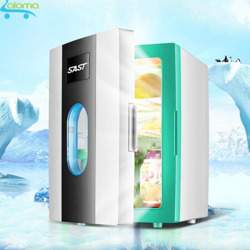 Tủ lạnh mini 10 lít SAST ST10L 2 chế độ làm lạnh hâm nóng cho gia đình và trên ô tô thuận thiện