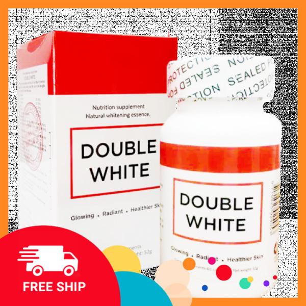 Viên uống trắng da ngăn ngừa nám - Double White của Mỹ giá rẻ