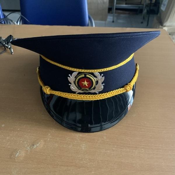 Mũ Kêpi Bảo Vệ, Mũ kepi bảo vệ, mũ cứng bảo vệ, phụ kiện bảo vệ, đồng phục bảo vệ.