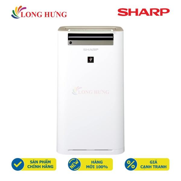 Máy lọc không khí tạo ẩm Sharp KC-G60EV-W - Hàng chính hãng - Hỗ trợ khóa trẻ em, Lọc nhanh với chế độ Haze, Công nghệ Inverter tiết kiệm điện