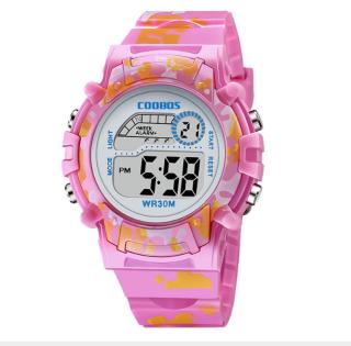 [MIỄN PHÍ GIAO HÀNG] Đồng hồ trẻ em đa chức năng kết hợp hiệu ứng đèn Lex 7 màu chính hãng Coobos 3