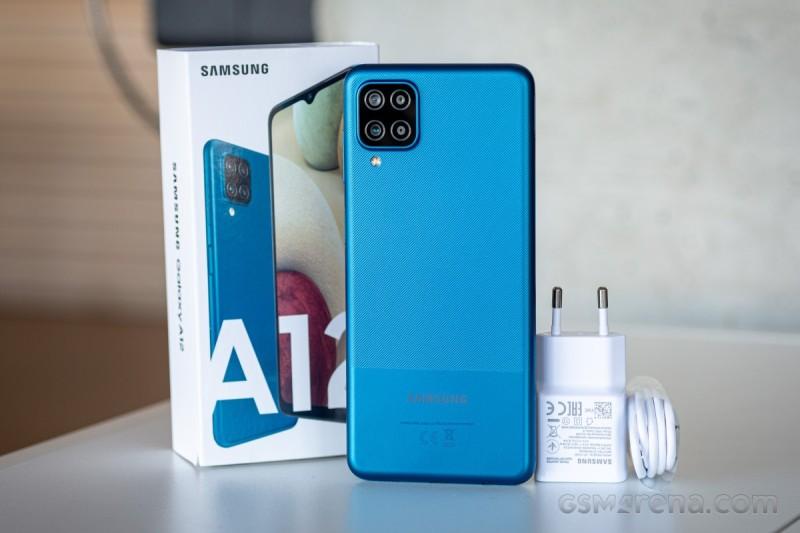 Điện thoại Samsung Galaxy A12 (4GB/128GB) Pin 5000mAh cụm 4 camera màn hình 6.5- BH 12 tháng
