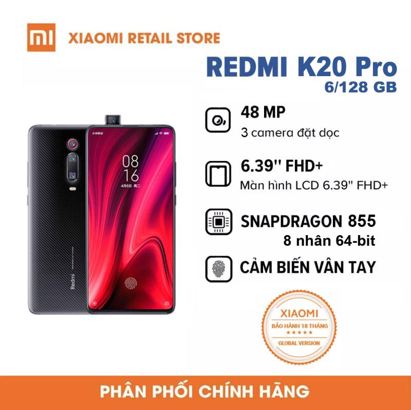 Điện thoại Xiaomi Redmi K20 Pro 6/128GB-Bảo hành 18 tháng