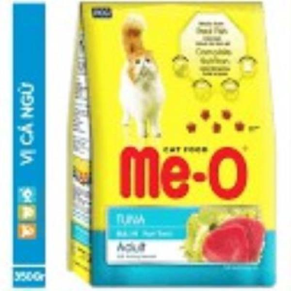 Thức Ăn Hạt Khô Cho Mèo Vị Cá Ngừ Me-O 350g