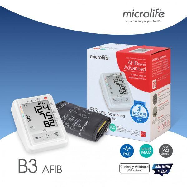 [HCM]Máy Đo Huyết Áp B3 AFIB Advance của Microlife Thụy Sĩ bán chạy