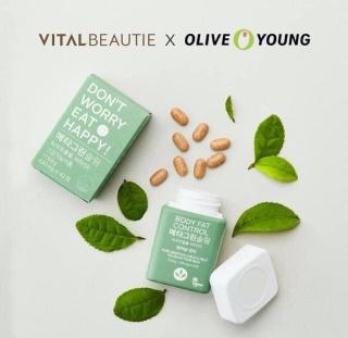 Viên trà xanh Vita Beauti VB - giảm cân an toàn hiệu quả - khỏe đẹp xinh thumbnail