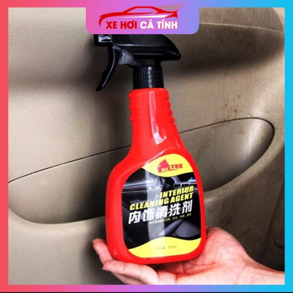 Dung dịch chuyên Vệ sinh trần nỉ ô tô - Nhập khẩu - Wash Cleaner - interior clearning dung tích 500ml