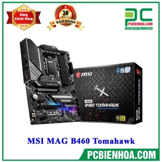 MAINBOARD MSI MAG B460 TOMAHAWK( LGA1200 ATX 4xDDR4 ) thumbnail