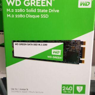 thanh ssd M2 2280 WD 240GB BH 3 Năm, Chính hãng thumbnail