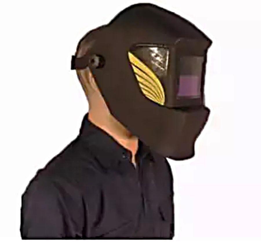 Mũ hàn điện tử cao cấp - phụ kiện chuyên dụng cho thợ hàn sử dụng cảm biến siêu nhạy, bảo vệ tuyệt đối đôi mắt và da mặt