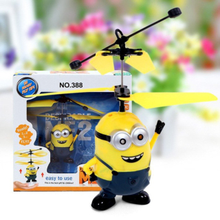Minion biết bay ,minion biết bay siêu dễ thương ,đồ chơi dàn cho bé ,đồ chơi ,minion thumbnail