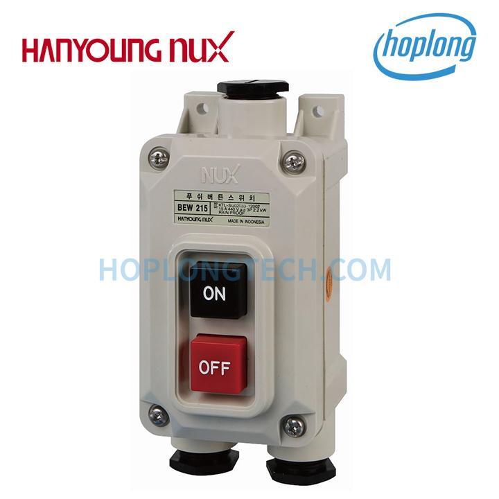 BEW-215 Nút nhấn nguồn ON-OFF kín nước 3P 15A 440VAC