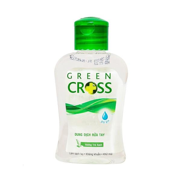Combo 2 Dung Dịch Rửa Tay Khô Green Cross 100ml Trà Xanh giá rẻ