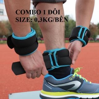 Tạ chân Tạ chân Tạ đeo chân tay chạy bộ thể thao 0.3kg bên thumbnail