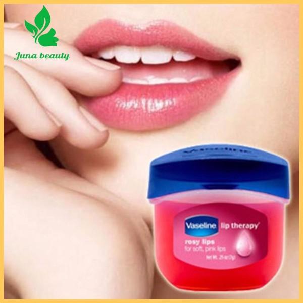COBMO 2 HỘP SON DƯỠNG HỒNG MÔI TRỊ THÂM MÔI Vaseline Rosy lips