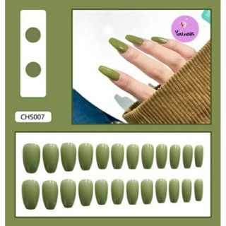 Set 24 móng giả kèm keo mã CHS007 thumbnail