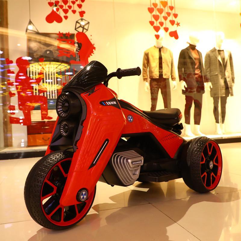 Xe Máy điện Thể Thao Trẻ Em BNW-828 | Xe Moto đạp Ga 2 Động Cơ Giá Cực Ngầu