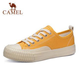 Giày Vải Nữ CAMEL Giày Đế Cao Giày Vải Thời Trang Giản Dị