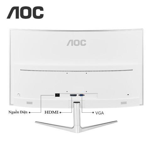 Màn Hình AOC 32inch Cong 2K Mới Full Box BH 12 Tháng Có Giá Tốt