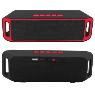 Giá thấp nhất SC208 Loa Bluetooth không dây Thẻ di động Loa kép Mini Cannon Audio Điện thoại di động Loa siêu trầm Nhiều màu có sẵn thumbnail