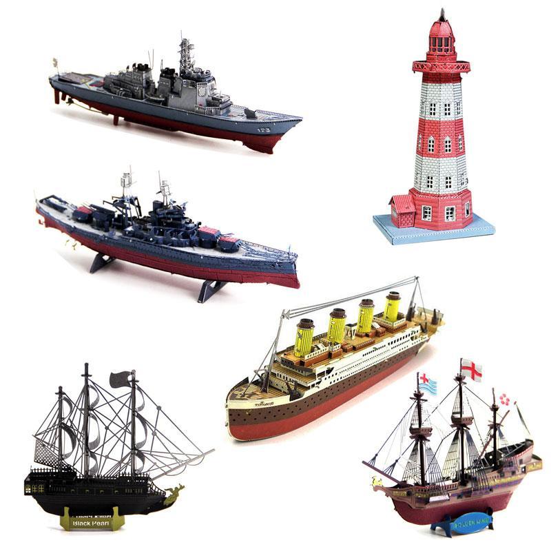 Voucher Giảm Giá Đồ Chơi Lắp Ghép Mô Hình 3D Bằng Thép Bản Màu Tàu Thuyền