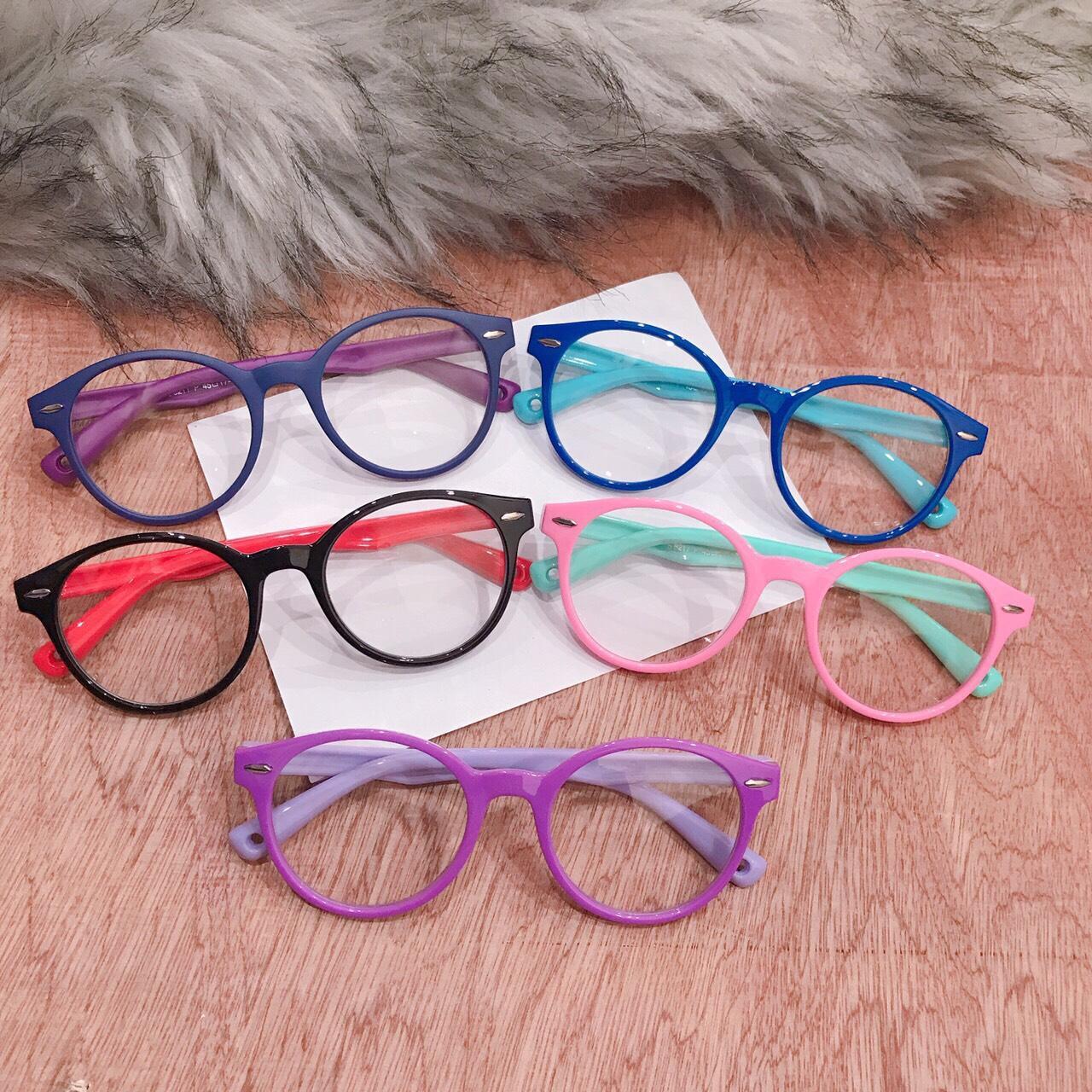 Giá bán kính mát cho bé yêu BY01 vui lễ quốc tế thiếu nhi 1/6, gọng dẻo tròng kính an toàn cho mắt bé ( tặng túi kính )