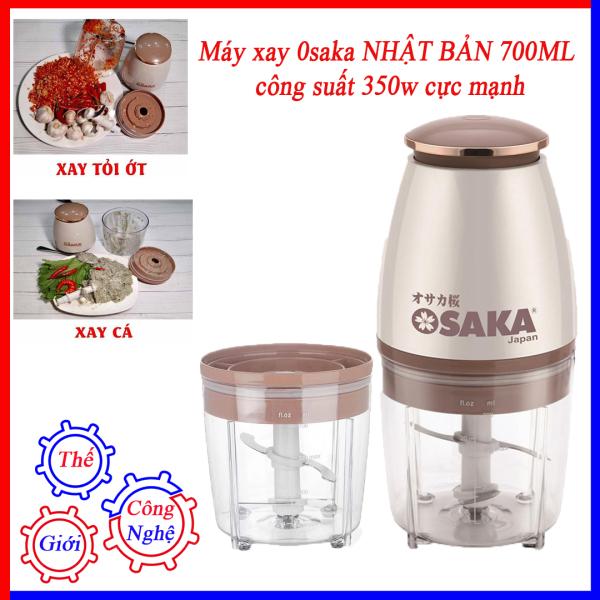 Máy Xay Sinh Tố Đa Năng OSAKA Nhật Bản chính hãng công suất cực lớn, dung tích 700ml, Xay Thịt - Xay Đá - Hoa Quả siêu nhanh, chưa đến 5s bạn đã có cốc sinh tố thơm ngon, bổ dưỡng