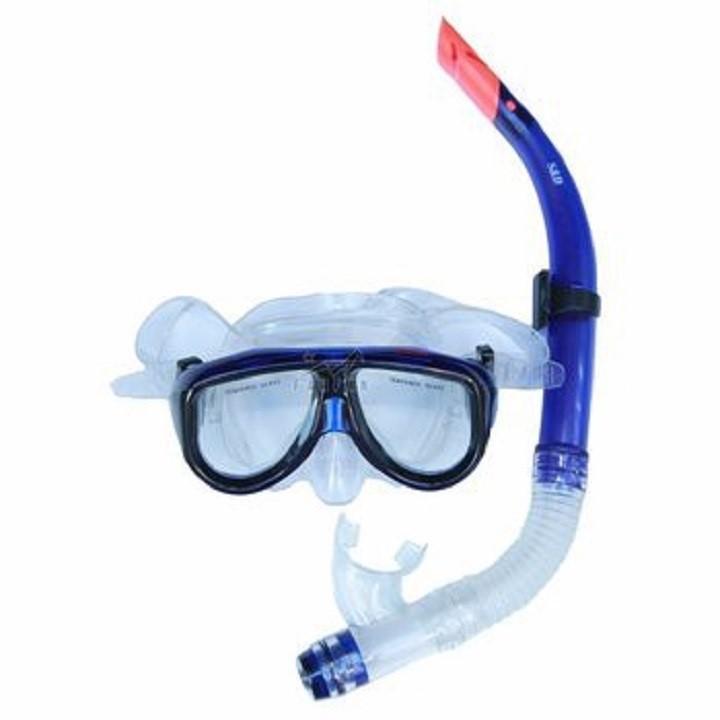 Bộ kính lặn và ống thở Wenfei swim 1189