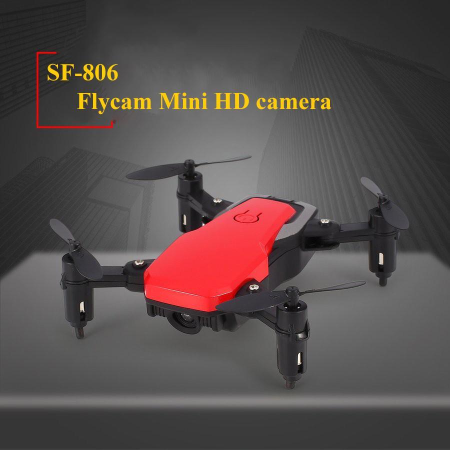 Máy bay điều khiển từ xa drone có camera HD - Flycam mini giá rẻ 4 cánh  động cơ cực mạnh thời gian bay lâu kết nối wifi (nhiều màu)