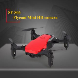 Máy bay điều khiển từ xa drone có camera HD - Flycam mini giá rẻ 4 cánh động cơ cực mạnh thời gian bay lâu kết nối wifi (nhiều màu) thumbnail