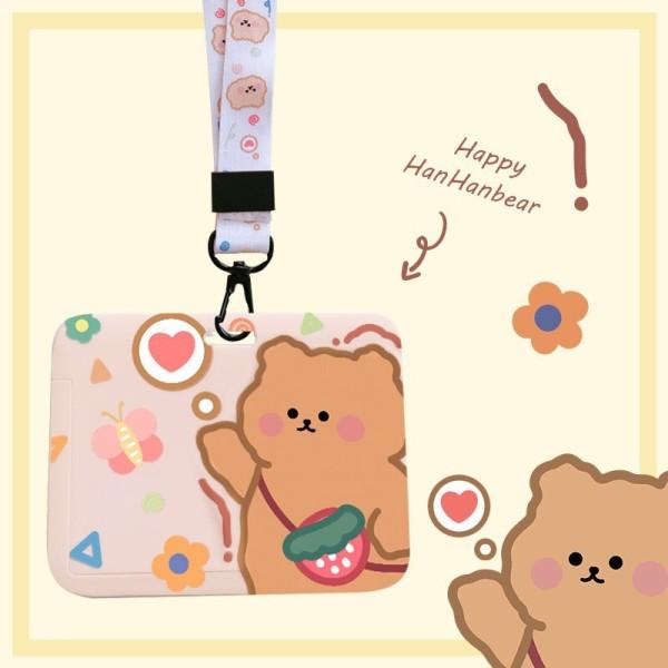 Dây đeo thẻ KÈM Hộp Thẻ Ngang Zanmoo nhiều hình dễ thương