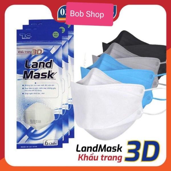 Khẩu Trang Y Tế 4D mask KF94 4 Lớp Kháng Khuẩn (túi 5 chiếc)