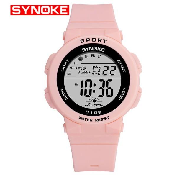 Nơi bán Đồng hồ điện tử thể thao thời trang trang nữ dây cao su SYNOKE PKHRSNK001  44 mm
