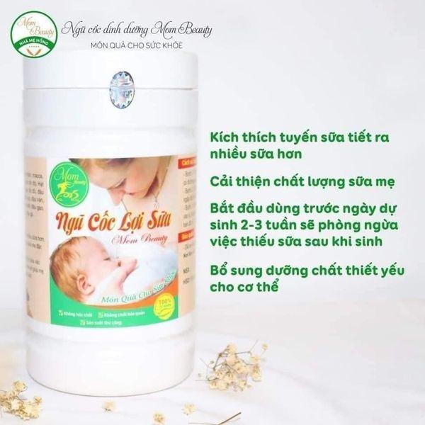 [Freeship], ngũ cốc lợi sữa Mombeauty, Kích thích tuyến sữa, sản sinh ra nhiều sữa non, Cải thiện chất lượng sữa mẹ, giúp sữa mẹ đặc thơm ngon, mát, ngũ cốc tốt cho mẹ sau sinh, giải pháp tuyệt vời cho mẹ sau sinh