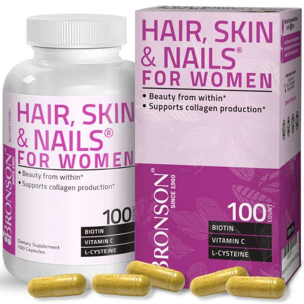Organic Hair, Skin & Nails - 100 viên Mỹ - Đẹp da, tóc, móng
