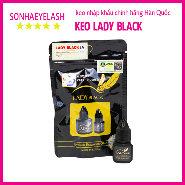 Keo nối mi Lady black, Keo nối mi dạng gel Lady black