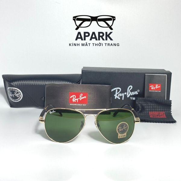 Mua Mắt Kính Mát R.B tròng thuỷ tinh FULL BOX chính hãng, mẫu hot bán quanh năm – Kính râm nam nữ đi biển - apark