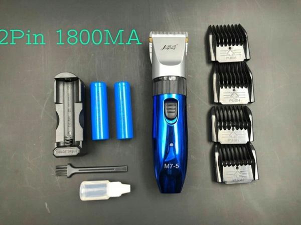 Tông đơ cắt tóc không dây chuyên nghiệp M7-5 NEW 2020 (2 Pin ) cao cấp