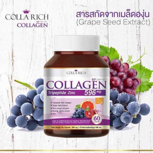 Viên uống Collagen Colla Rich Trẻ Hóa Da nhập khẩu