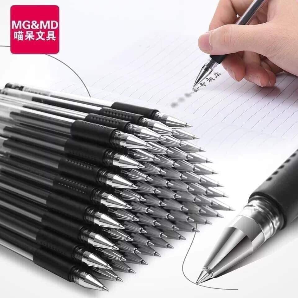 Mua combo 20 bút mực nước màu xanh đen trộn màu bút bi nước căn phòng phẩm giá rẻ cho bạn