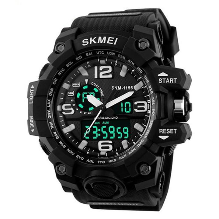 Đồng hồ điện tử thể thao SKMEI 1155 đa chức năng chống nước bán chạy