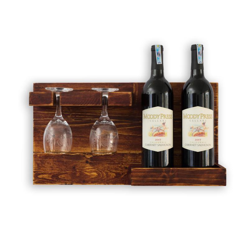 Kệ Rượu Treo Tường KR03