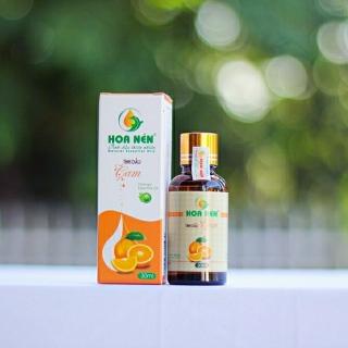 Tinh dầu cam nguyên chất Hoa Nén - Tinh dầu xông phòng giúp xua tan stress, căng thẳng, mệt mõi hiệu quả thumbnail