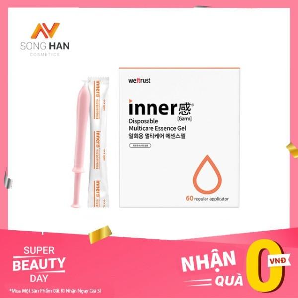 Đũa Thần Inner Gel SH293 Gel Phụ Khoa Dưỡng Ẩm Và Làm Sạch 60 Que Xuất Xứ Hàn Quốc - Phân Phối Chính Thức giá rẻ