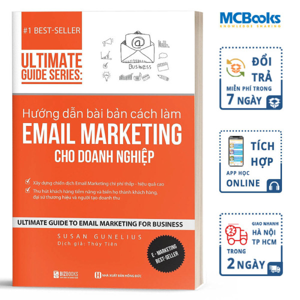 Hướng dẫn bài bản cách làm Email Marketing cho doanh nghiệp - BIZBooks