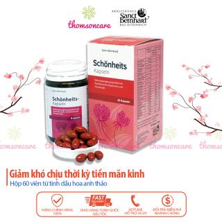 Tinh dầu hoa anh thảo Schonheits Kapseln nhập khẩu từ Đức, bổ sung nội tiết tố nữ, tăng cường sinh lý thumbnail
