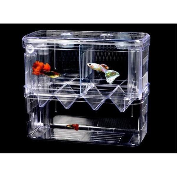 Lồng đẻ cho cá, lồng dưỡng cá con (loại đôi)