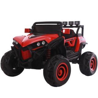 Ô tô xe điện siêu địa hình XJL-588 cho bé 2 ghế 4 động cơ đạp ga cho bé ( Đỏ -Trắng - Xanh) thumbnail