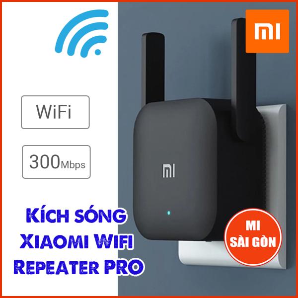 [BẢN QUỐC TẾ] Thiết bị kích sóng Xiaomi Wifi Repeater Pro - Digiworld phân phối